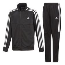 adidas Trainingsanzug Tiro - Schwarz/Weiß Kinder
