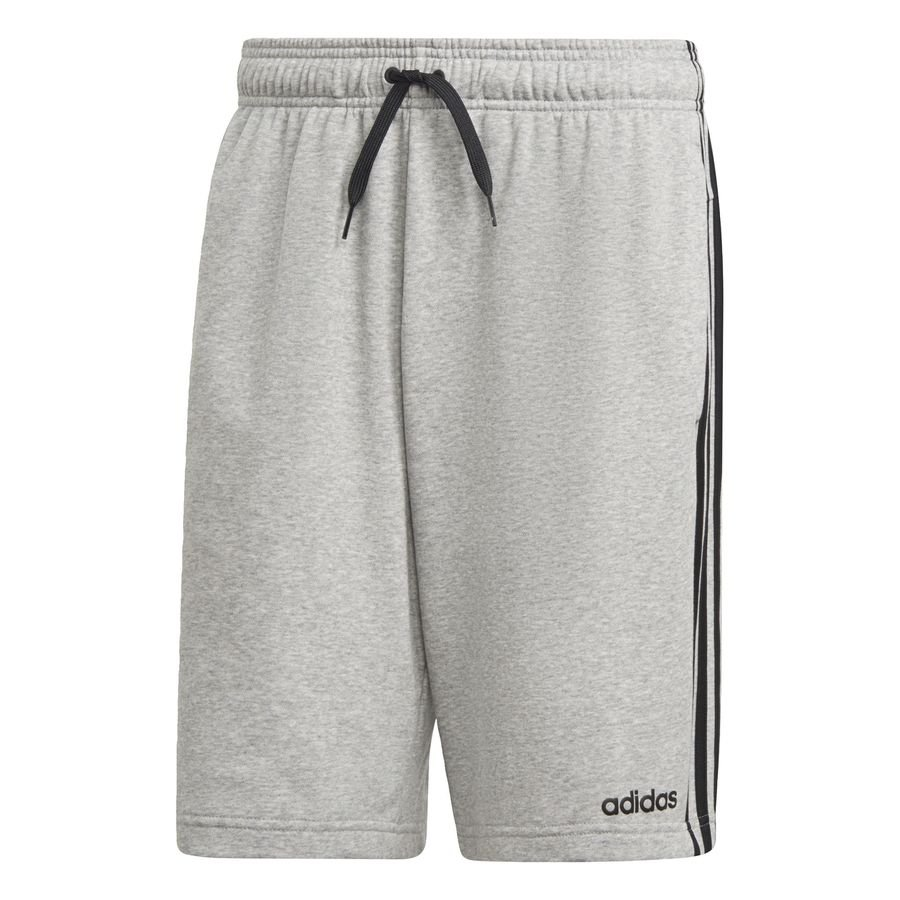 Essentials 3-Stripes French Terry shorts Grey thumbnail