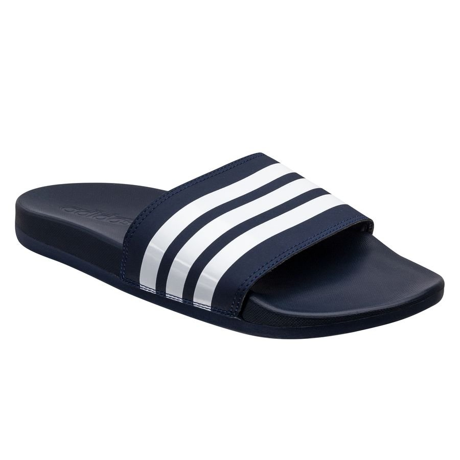 Adilette Cloudfoam Plus Stripes sandaler Blå thumbnail