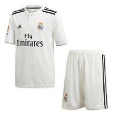 Real Madrid Home minisæt Hvid