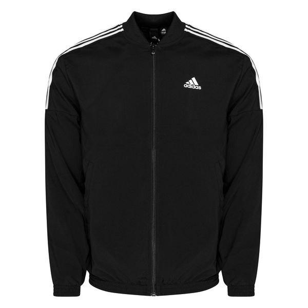 Remolque Penetrar Si  adidas Woven Tracksuit - Black/White | www.unisportstore.com