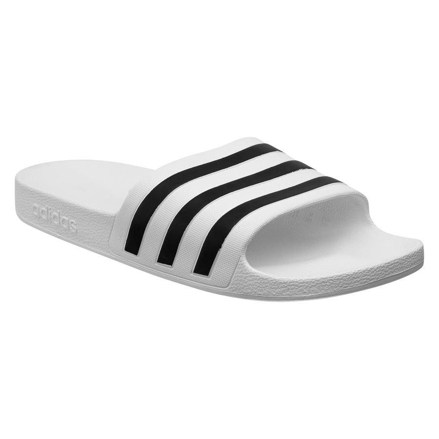 adidas Badesandal adilette - Hvid thumbnail