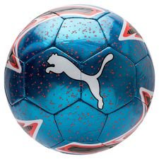 PUMA Fotboll One Laser Power Up - Blå/Röd/Vit