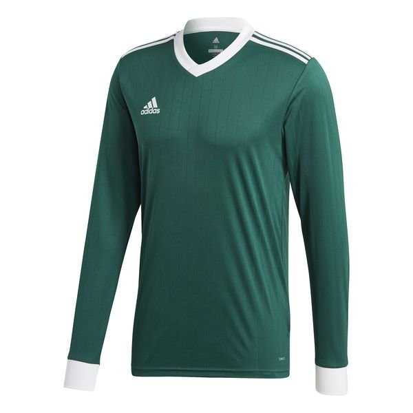 adidas Maillot Tabela 18 VertBlanc Manches Longues