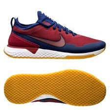 nike f.c. react sneaker - röd/blå/vit limited edition - sneakers