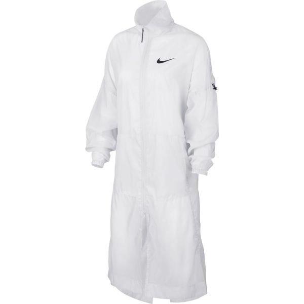 Nike Veste NSW Woven BlancNoir Femme