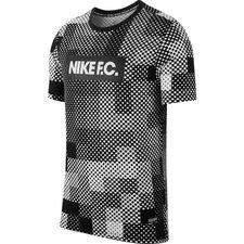 sale retailer 96a44 b5086 Nike F.C. T-paita Dry Seasonal Block - Valkoinen Musta