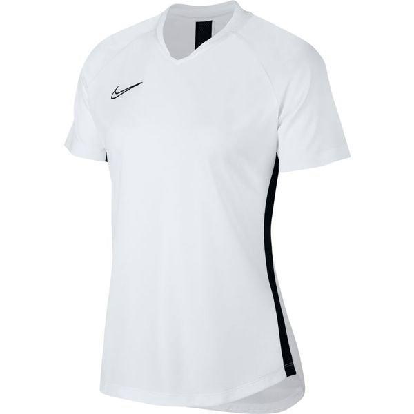 Nike T Shirt Dry Academy HvidSort Kvinde