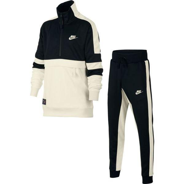 Nike Trainingsanzug Air - Schwarz/Weiß Kinder