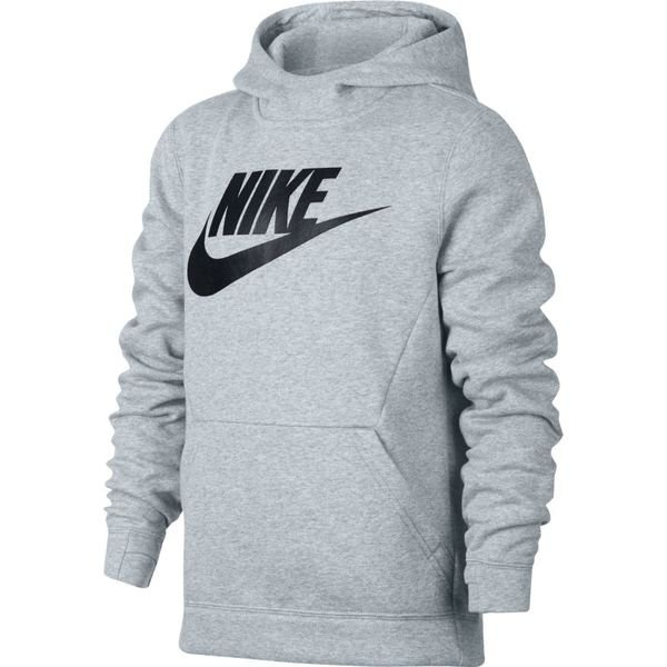 79062847 Nike Hettegenser NSW Club - Grå/Sort Barn | www.unisportstore.no