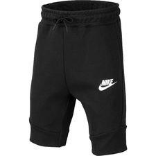 Nike Shorts Tech Fleece - Zwart/Wit Kinderen