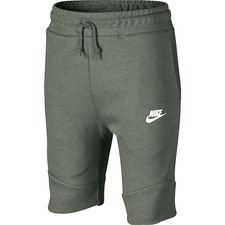 Nike Shorts Tech Fleece - Groen/Wit Kinderen
