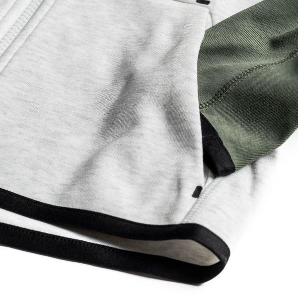 444e6f387 Nike Hettegenser Tech Fleece Essentials FZ - Grå/Sort/Hvit Barn