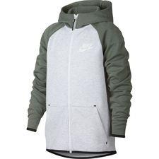Nike Hettegenser Tech Fleece Windrunner GråSort