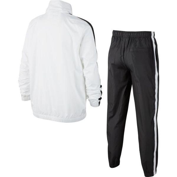 Nike Trainingsanzug NSW Woven WeißGrau Kinder   www