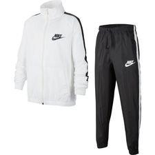 Nike Trainingspak NSW Woven - Wit/Grijs Kinderen