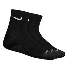 Nike Kousen Dry Cushion Crew 3-Pak - Zwart/Grijs/Wit