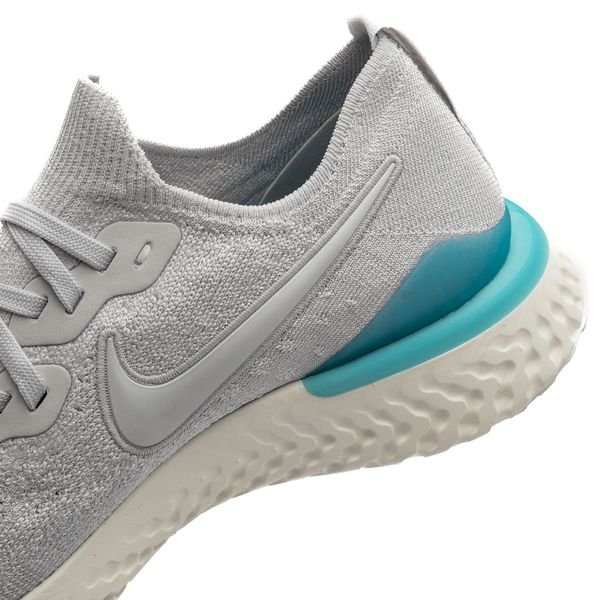 Nike Epic React Flyknit 2 Vast GreyBlue LagoonSail �?The