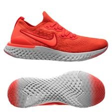 85cd12bbe3c Nike Løpesko Epic React Flyknit 2 - Rød Grå Sort