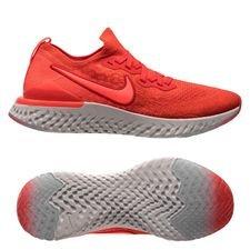 3501d959 Nike Løbesko Epic React Flyknit 2 - Rød/Rød/Grå Børn