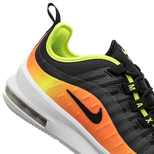 Nike Air Max Axis MustaNeonOranssi Lapset