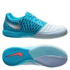 best service bc10d 5518a Nike Lunargato II IC - Blå Sølv Blå