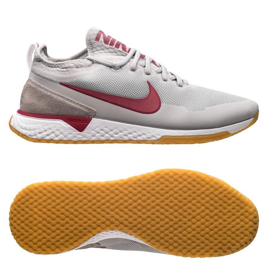 Nike F.C. React Sneakers GrisBordeauxBlanc ÉDITION LIMITÉE