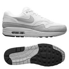 finest selection c7637 51c8c Nike Air Max 1 - Vit Grå Grå