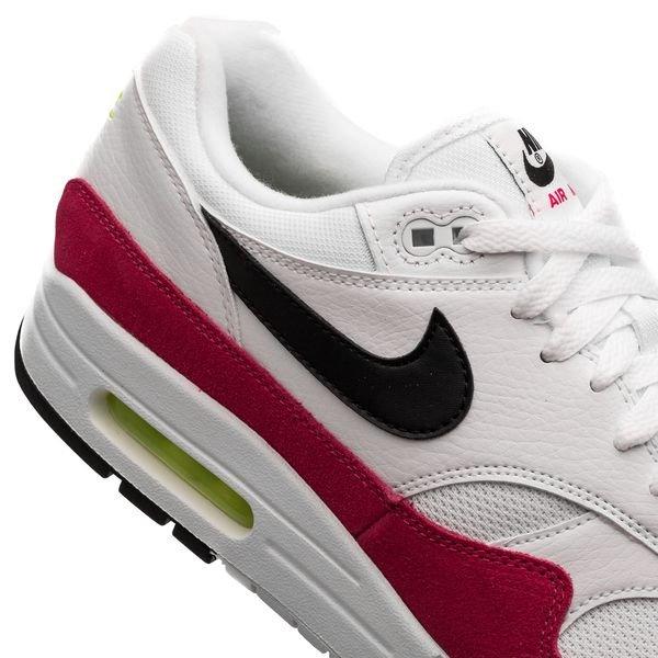 nouveau produit 2afbc 7db66 Nike Air Max 1 - White/Black/Volt/Pink
