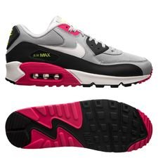 best website 4c8e9 7e3e1 Nike Air Max 90 Essential - Grå Hvid Pink Neon