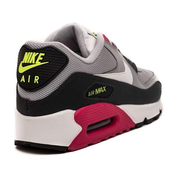 magasin en ligne 78979 23089 Nike Air Max 90 Essential - Gris/Blanc/Rose/Jaune Fluo