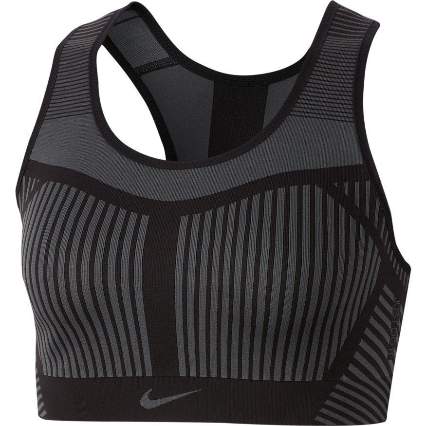 Nike Sports BH FE/NOM Flyknit - Sort/Grå Kvinde thumbnail