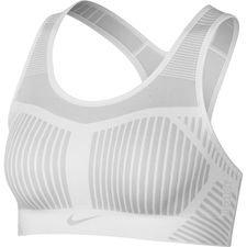 Nike Sport BH FE/NOM Flyknit - Weiß/Grau Damen