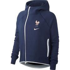 5cf231c4a5d Frankrijk Hoodie NSW Tech Fleece Women's World Cup 19 - Navy/Wit Vrouw