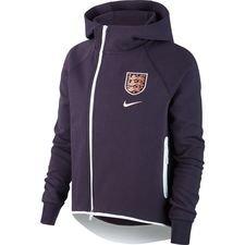 Engeland Hoodie NSW Tech Fleece Women's World Cup 19 – Paars/Wit Vrouw