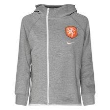 ce6e883d3f6 Nederland Hoodie NSW Tech Fleece Women's World Cup 19 - Grijs/Wit Vrouw