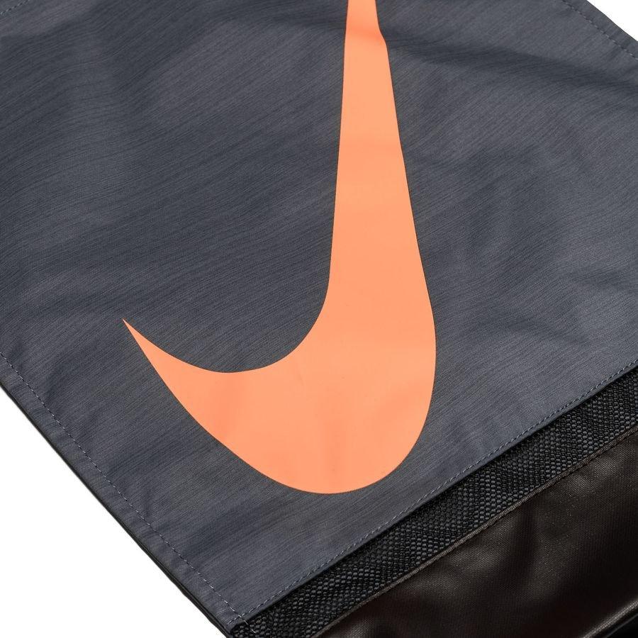 326ac2d1f2ae9 Nike Turnbeutel Academy - Blau Schwarz Orange