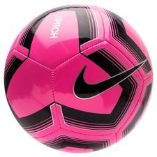 Nike Fotboll Pitch Training - Rosa/Svart
