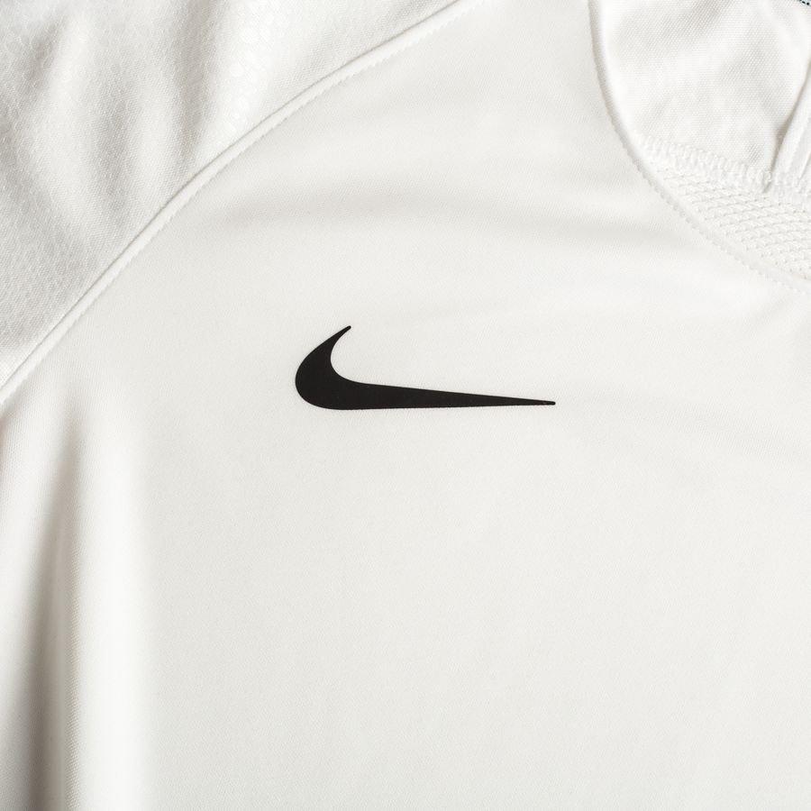 Nike T shirt d'Entraînement Breathe Squad Mercurial LVL UP BlancNoir Enfant
