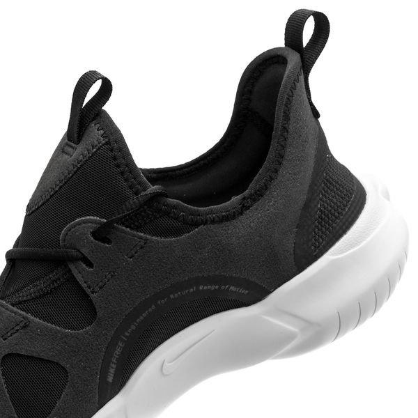 various colors e2d8b 7ccaa Nike Running Shoe Free 5.0 - Black/White/Anthracite/Volt Kids