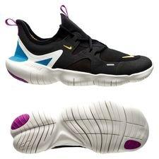 Nike Hardloopschoenen Free 5.0 – Zwart/Oranje/Blauw Kinderen