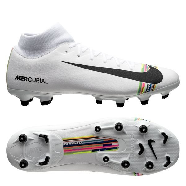 official photos fda15 91968 Nike Mercurial Superfly 6 Academy MG LVL UP - Pure Platinum/Black/White