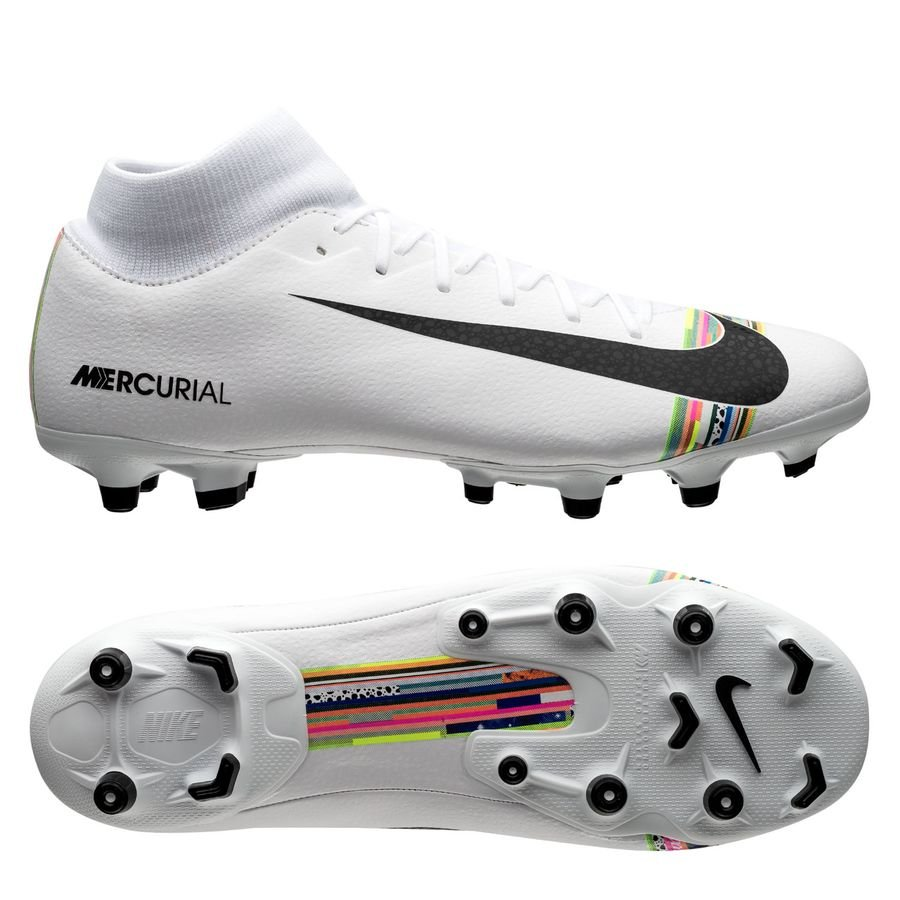 Nike Mercurial Superfly 6 Academy MG - Grå/Sort/Hvid