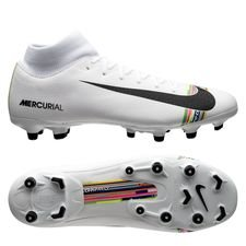 size 40 703a6 ebe86 Nike Mercurial Superfly 6 Academy MG LVL UP - Grå Svart Vit