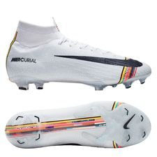 Nike Mercurial Superfly 6 Elite FG LVL UP - Grau/Schwarz/Weiß