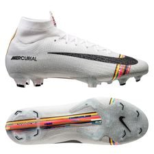 Nike Mercurial Superfly 6 Elite FG LVL UP - Grå/Sort/Hvid