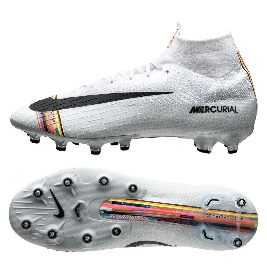 Nike Mercurial Superfly 6 Elite AG-PRO - Grå/Sort/Hvid