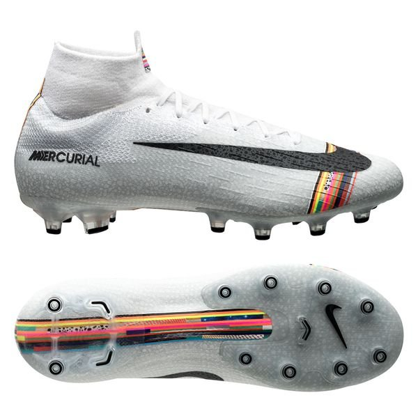 7acd0a398 Nike Mercurial Superfly 6 Elite AG-PRO LVL UP - Pure Platinum Black ...