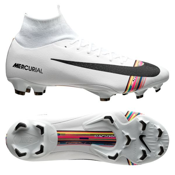 huge sale latest fashion new photos Nike Mercurial Superfly 6 Pro FG LVL UP - Pure Platinum/Black/White