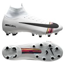 Nike Mercurial Superfly 6 Pro AG-PRO LVL UP - Grijs/Zwart/Wit